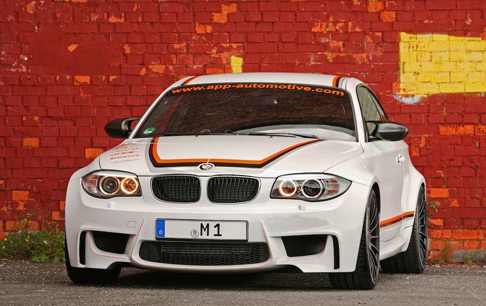 BMW 1 Series M Coupe tuned by APP - 404 hp