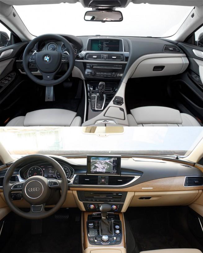 audi-a7-bmw-6-series-gran-coupe-interior