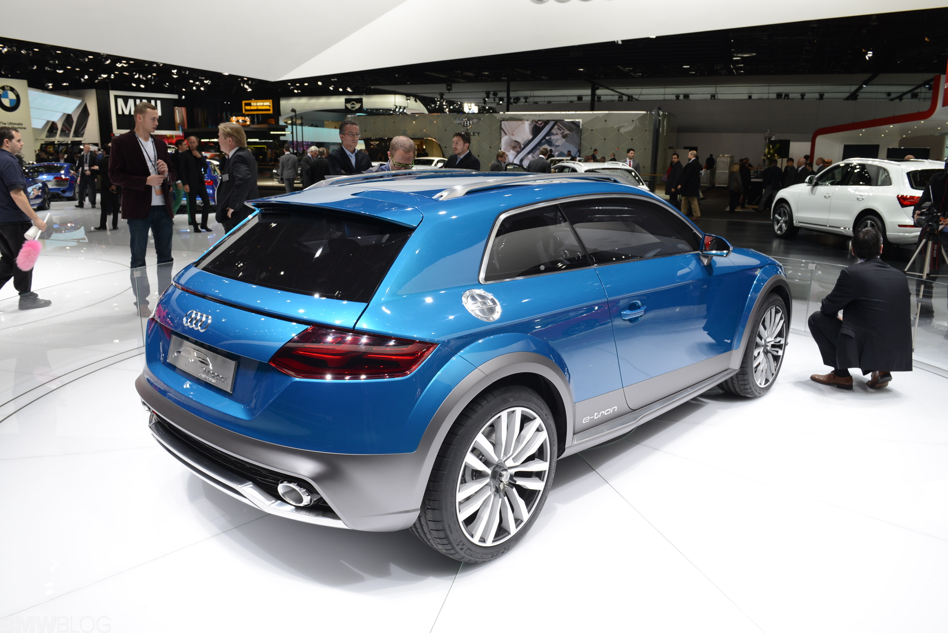 Audi Q1 Allroad Shooting Brake Debut At 2014 Detroit Auto Show