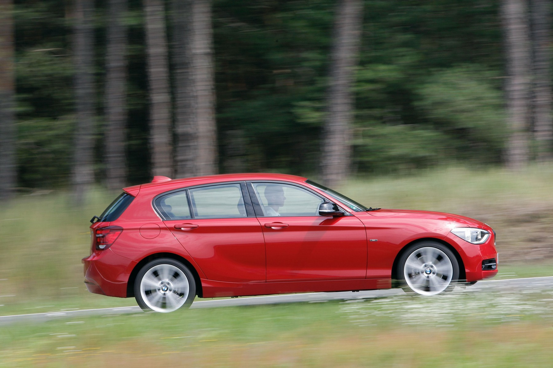 bmw 1 series crimson red 117