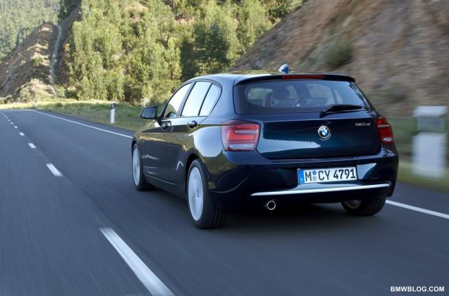 BMW 1 SERIES E82 COUPE 116d 2010 DOOR WING MIRROR GLASS BLUE HEAT LEFT