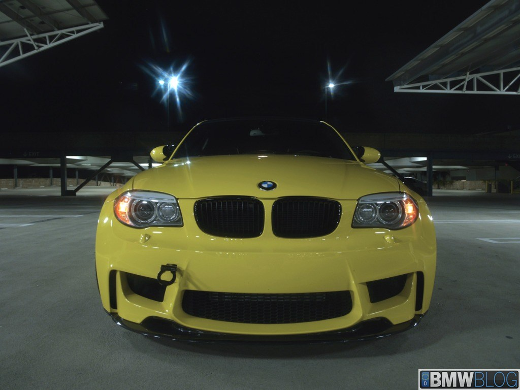 bmw 1m dakar yellow 08