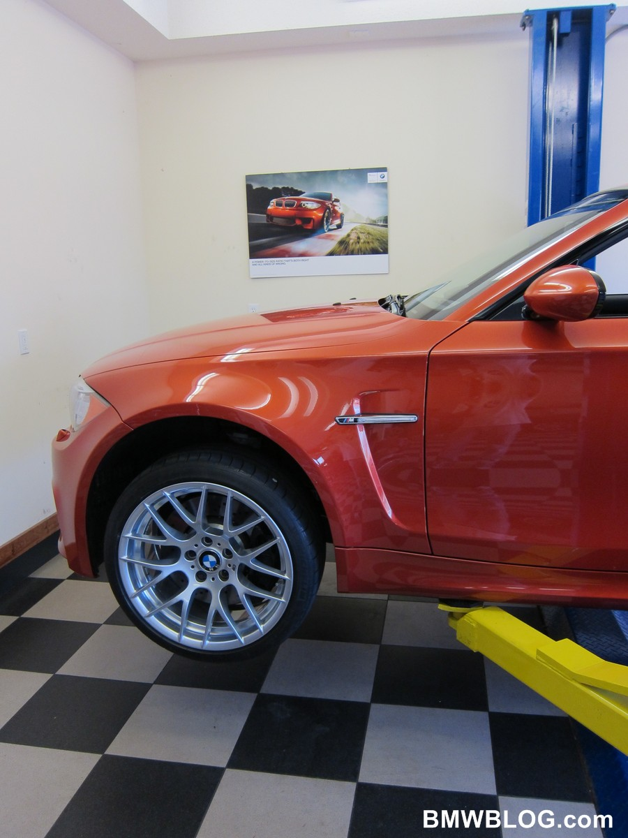 bmw 1m oil change 14