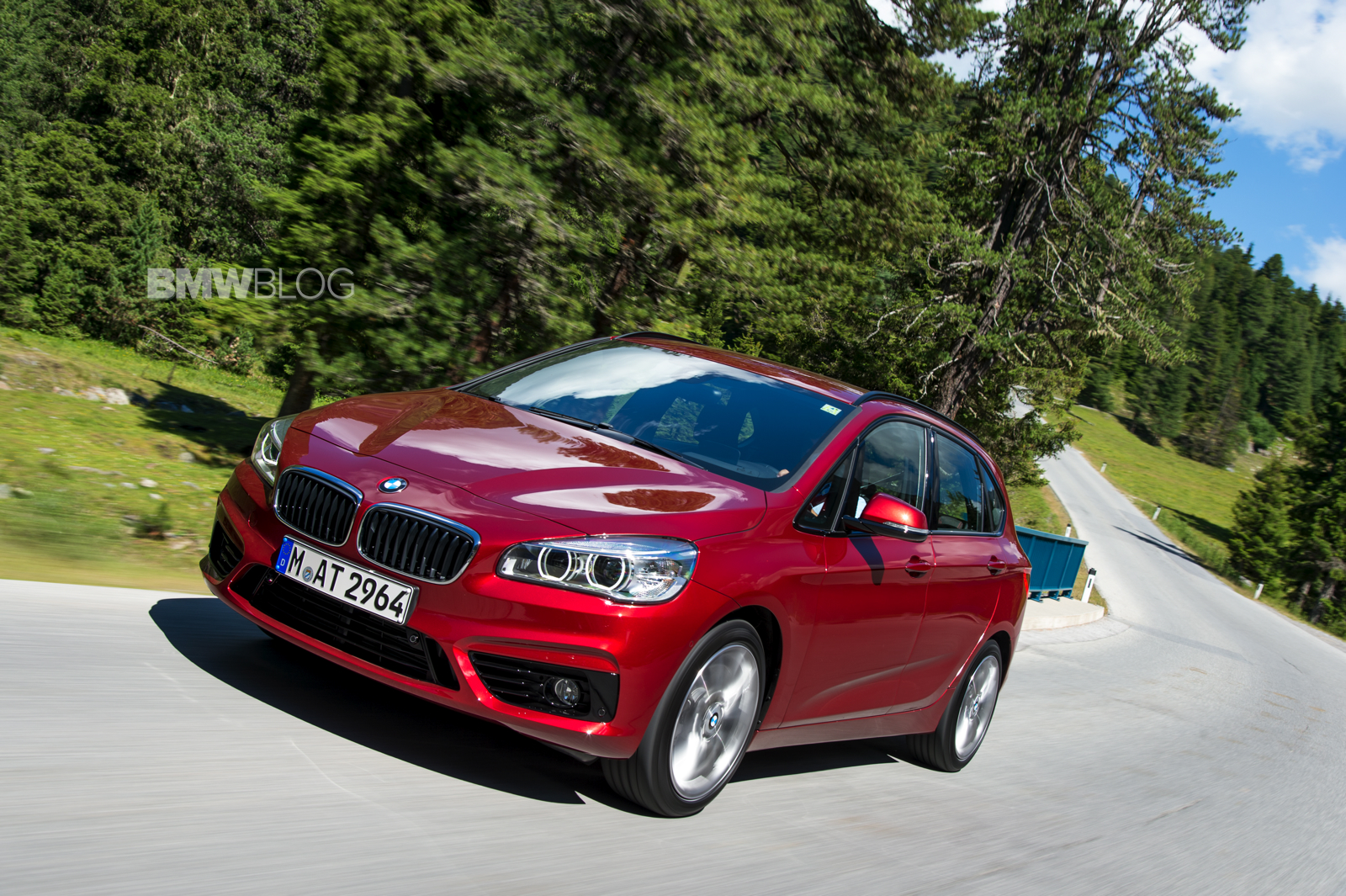 bmw 2 series active tourer first drive 18