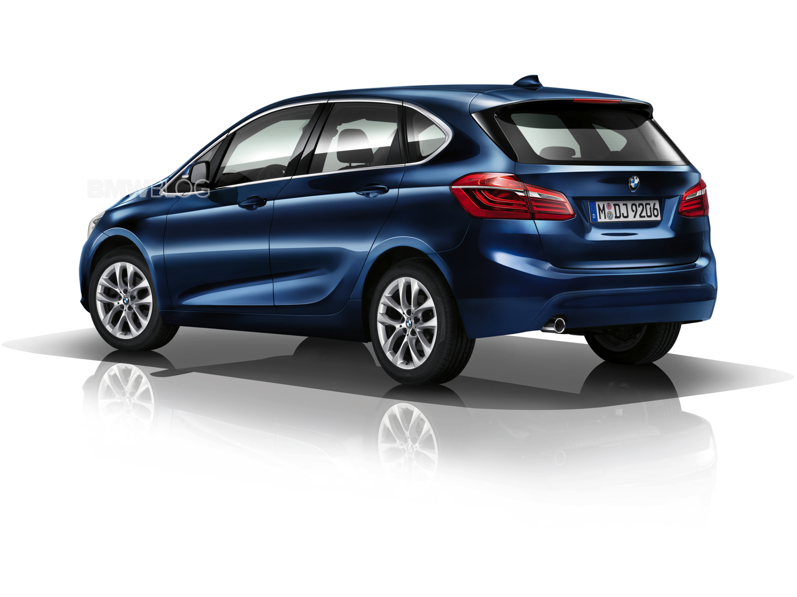 Bmw 2 Series Active Tourer With M Sport Package Photo Gallery