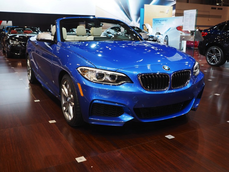 bmw 2 series convertible 2015 chicago auto show images 03 750x563