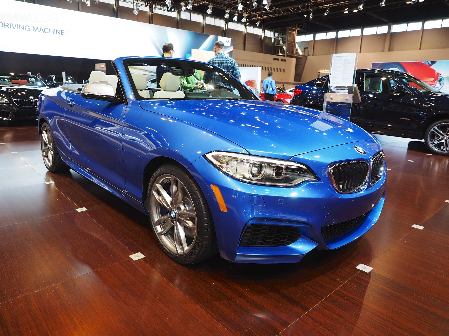 bmw 2 series convertible 2015 chicago auto show images 22