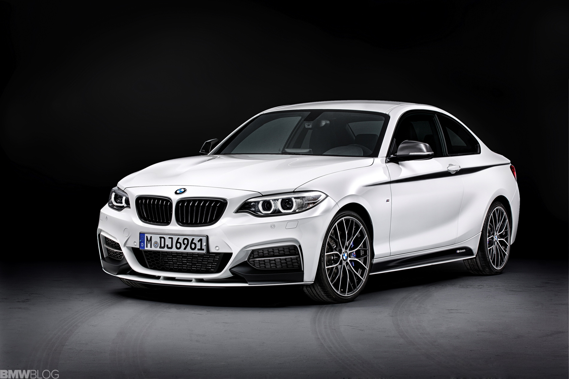 Bmw 2 Series Coupe With M Performance Parts