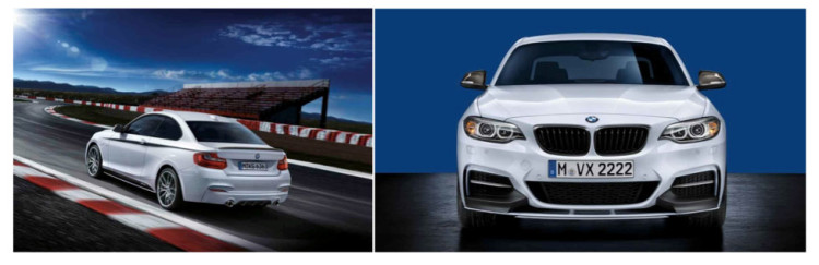 bmw 2 series coupe m performance parts 750x243