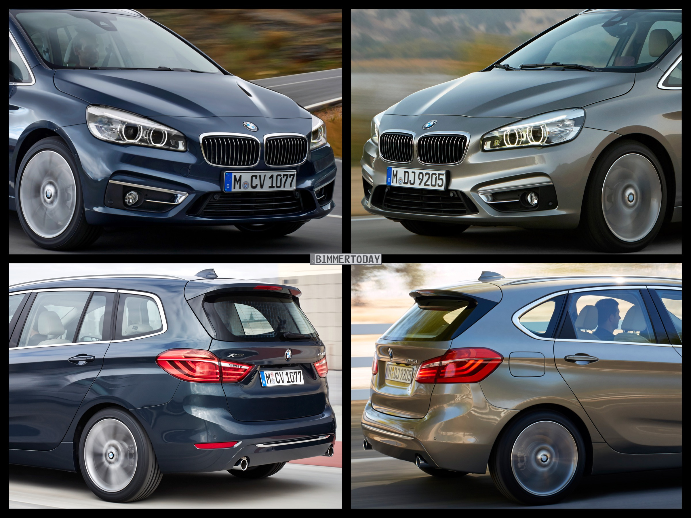bmw 2 series gran tourer 2 series active tourer