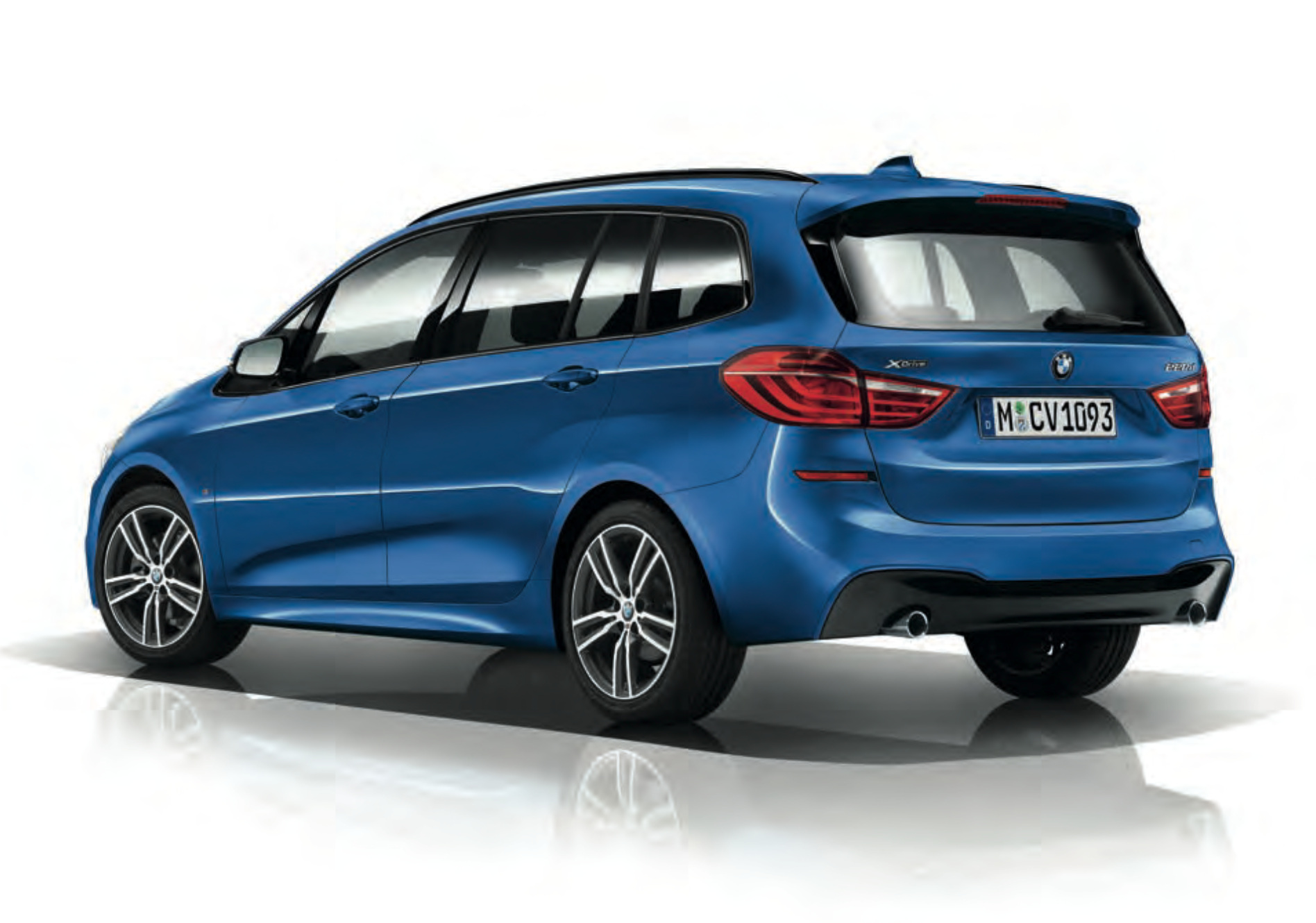 bmw f46 2 series gran tourer with m sport package. Black Bedroom Furniture Sets. Home Design Ideas