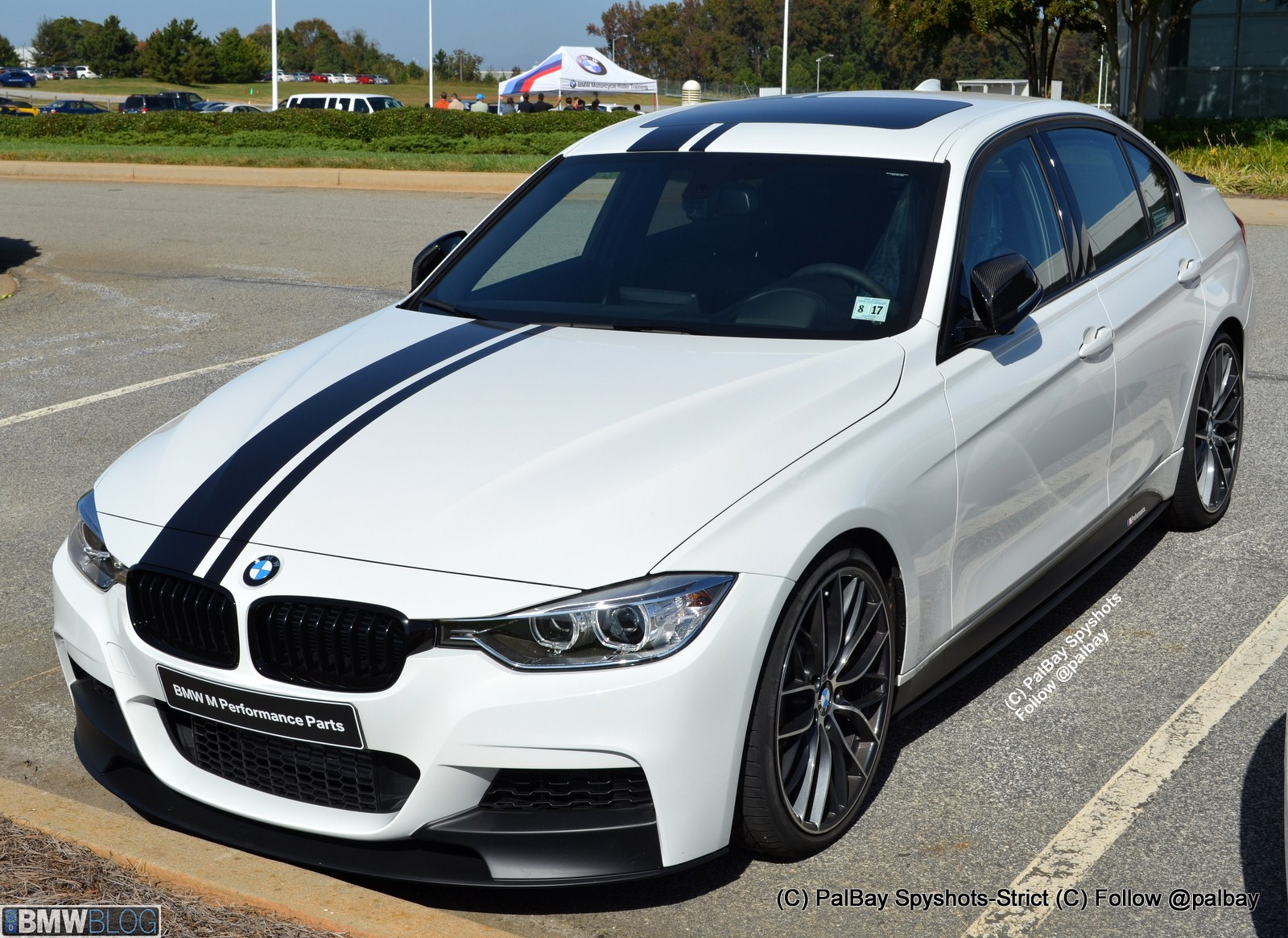 new bmw m performance parts for the new bmw 3 and 5 series sedans. Black Bedroom Furniture Sets. Home Design Ideas
