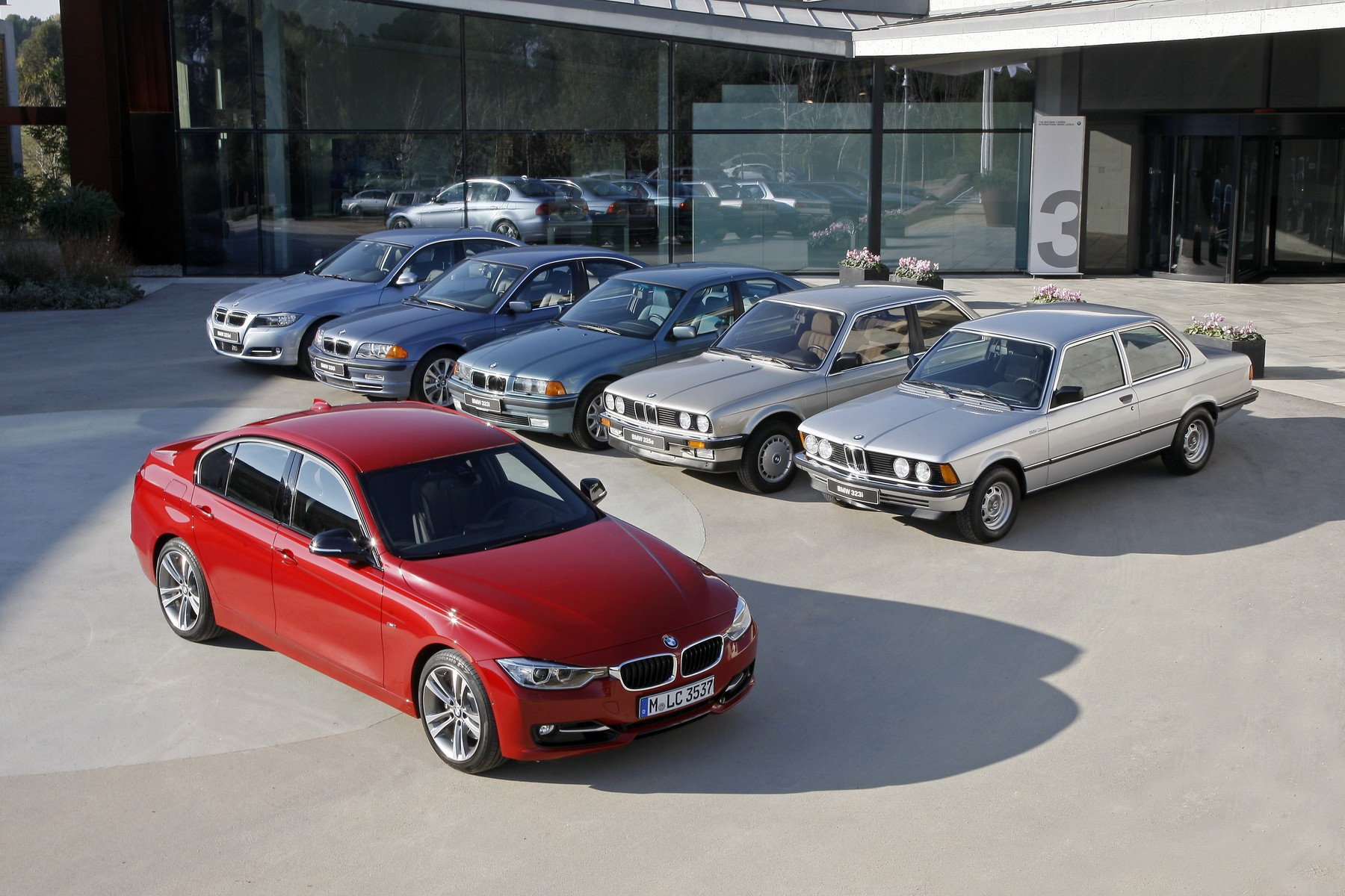 bmw 3 series generations 03