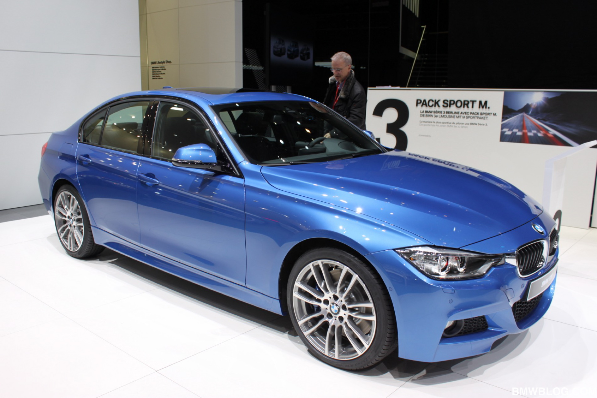 2012 Geneva Motor Show Bmw 328i With M Sport Package