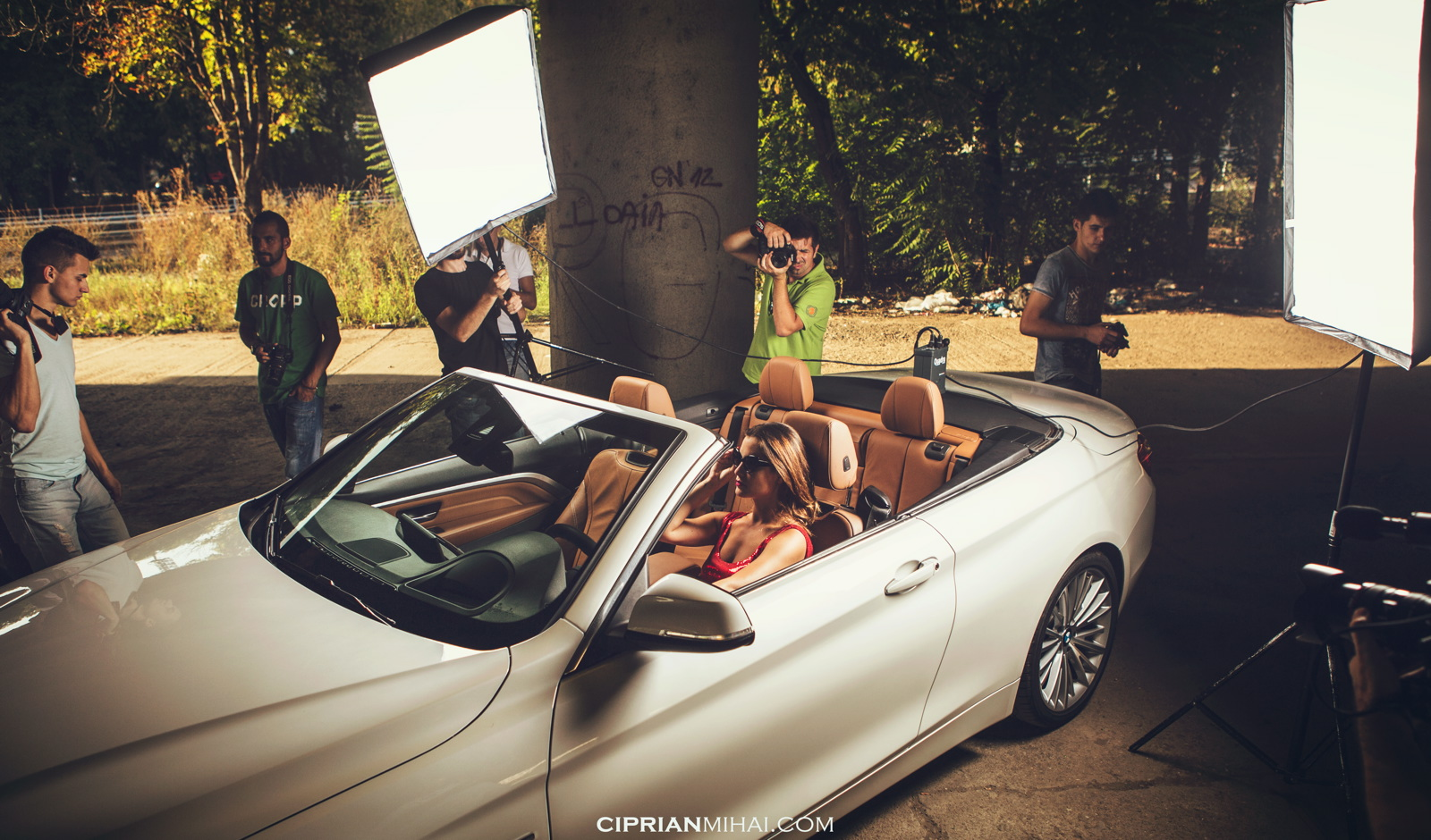 bmw 4 series convertible photoshoot 2