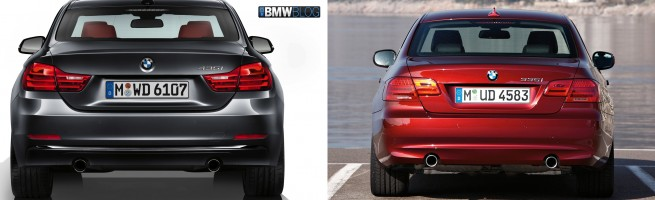 bmw 4 series coupe vs bmw 3 series coupe image 3 655x200