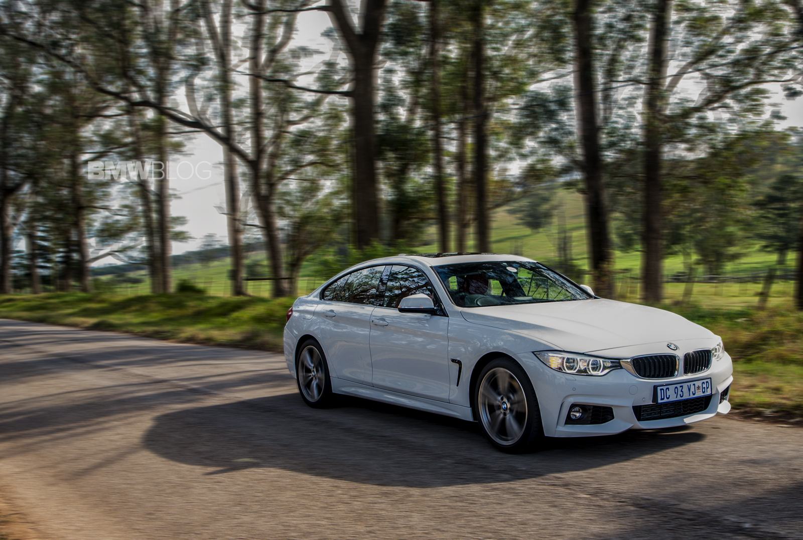 Bmw 4 Series Gran Coupe Alpine White And M Sport Package