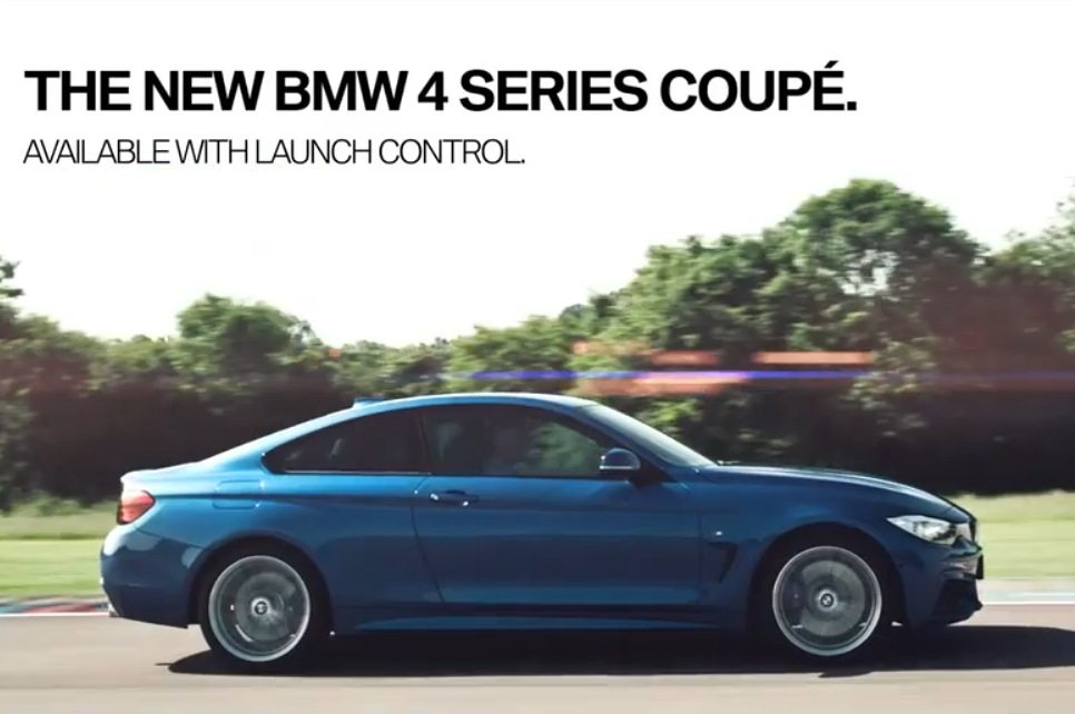 bmw 4 series launch control