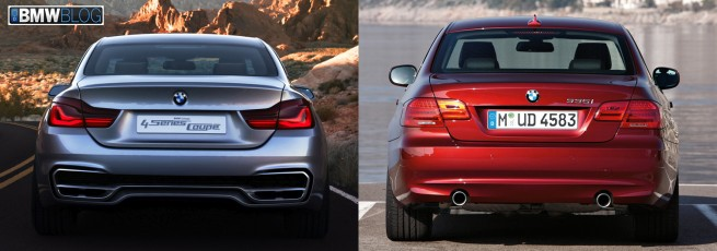 bmw 4 series vs bmw 3 series coupe photo 2 655x230