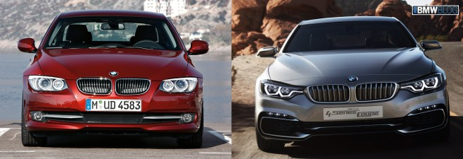 bmw 4 series vs bmw 3 series coupe photo 655x225
