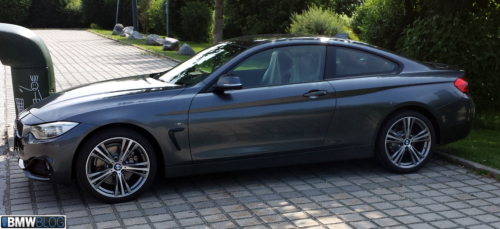 Bmw 428i Coupe >> Bmw 428i Coupe Sport Line Spotted In Germany