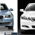 bmw 5 hybrid vs lexus 450h 120x120