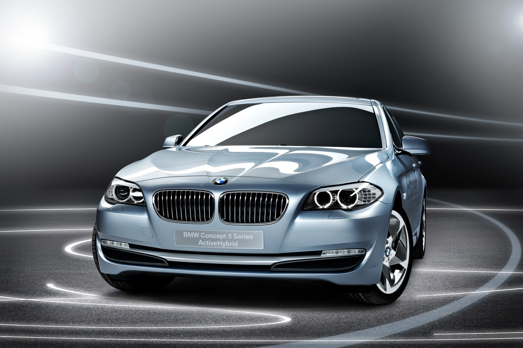Wallpapers: BMW 5 Series ActiveHybrid