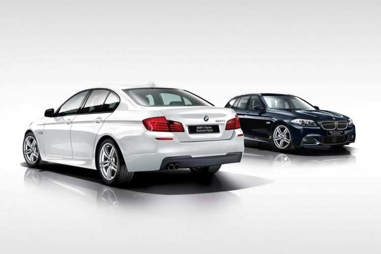 bmw 5 series exclusive sport edition 750x500