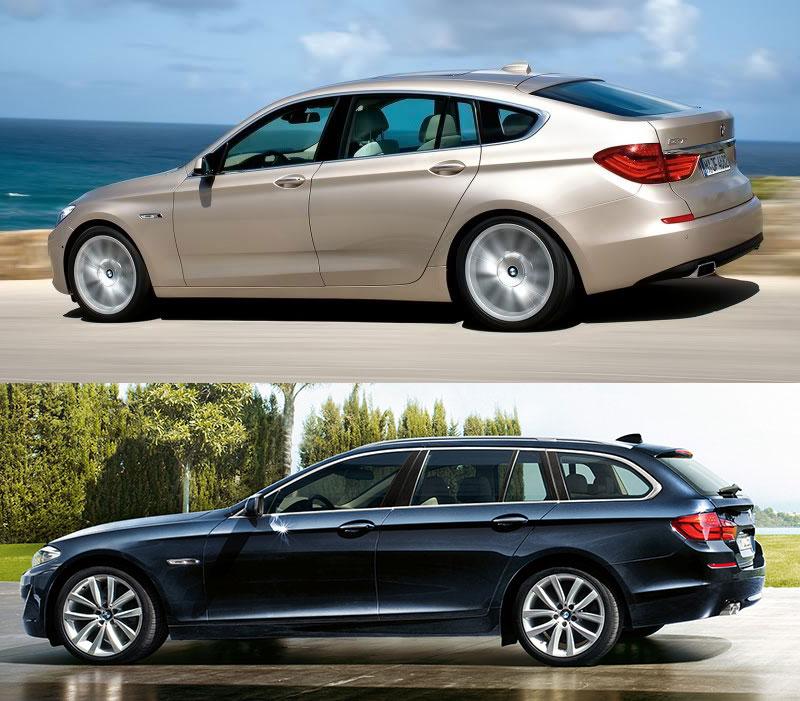 Bmw 6 Series Gt Vs Bmw 5 Series Gt: Comparison: BMW 5 Series GT Vs. BMW 5 Series Touring