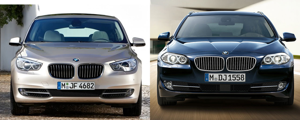 bmw 5 series touring vs 5 gt