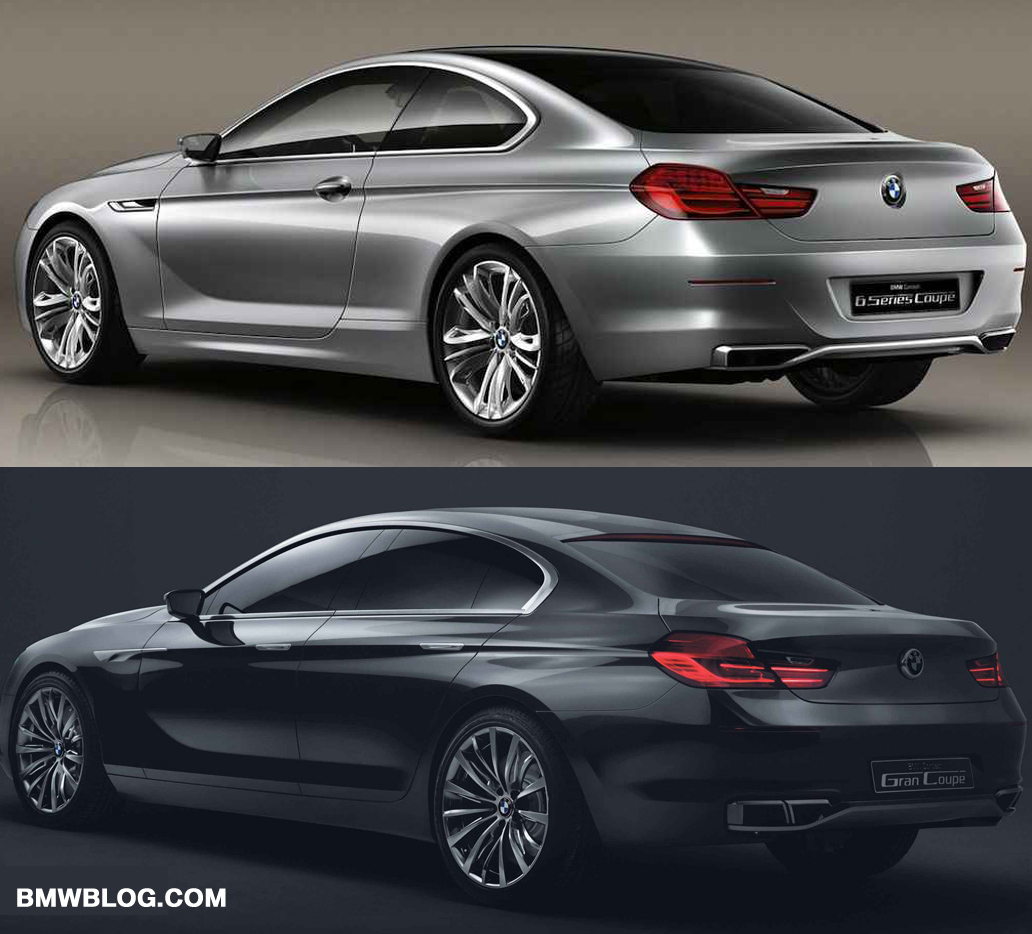Photo Comparison: BMW 6 Series Coupe Vs. BMW Gran Coupe