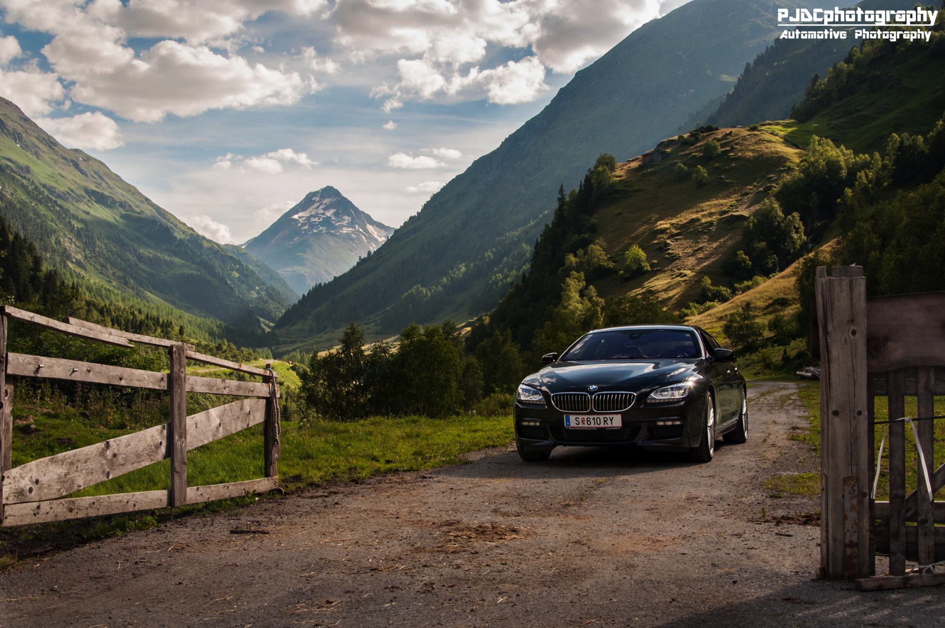 bmw 6 series gran coupe black images 01