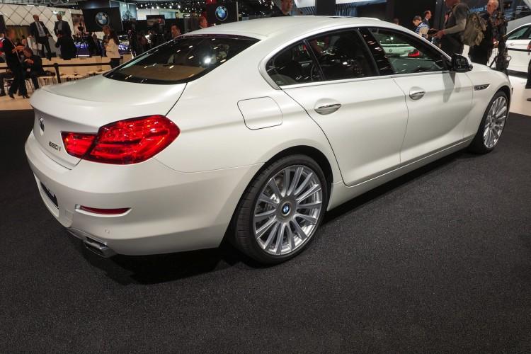 2015 NAIAS: BMW 6 Series Gran Coupe Facelift