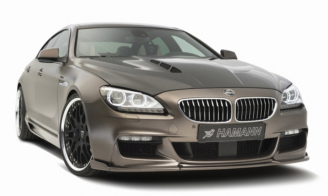 bmw 6 series gran coupe hamann
