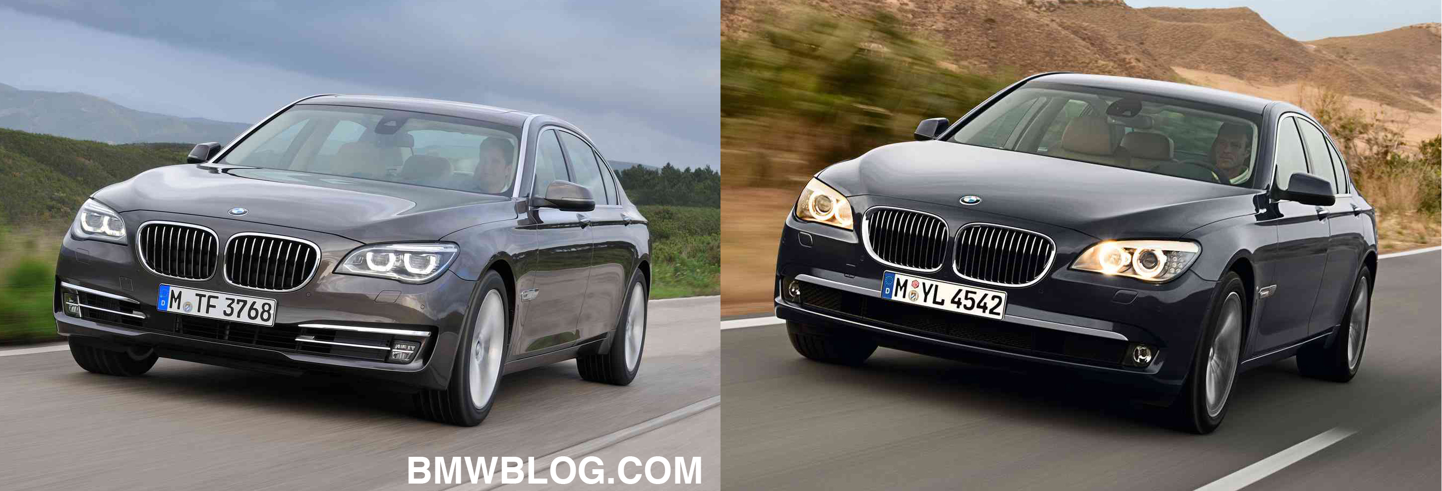 Photo Comparison New Bmw 7 Series Facelift Vs Pre