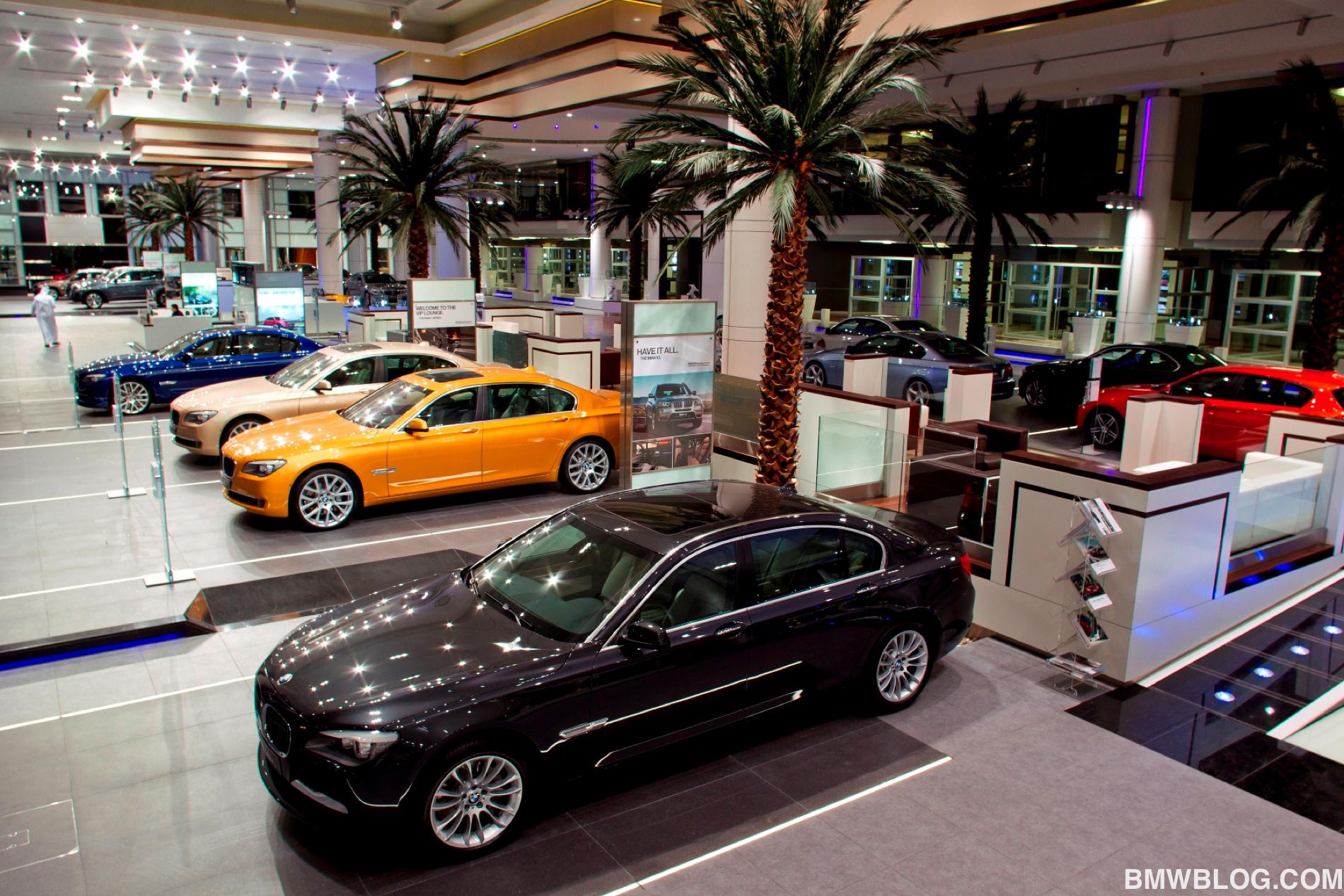 Bmw Opens Largest Showroom Worldwide In Abu Dhabi
