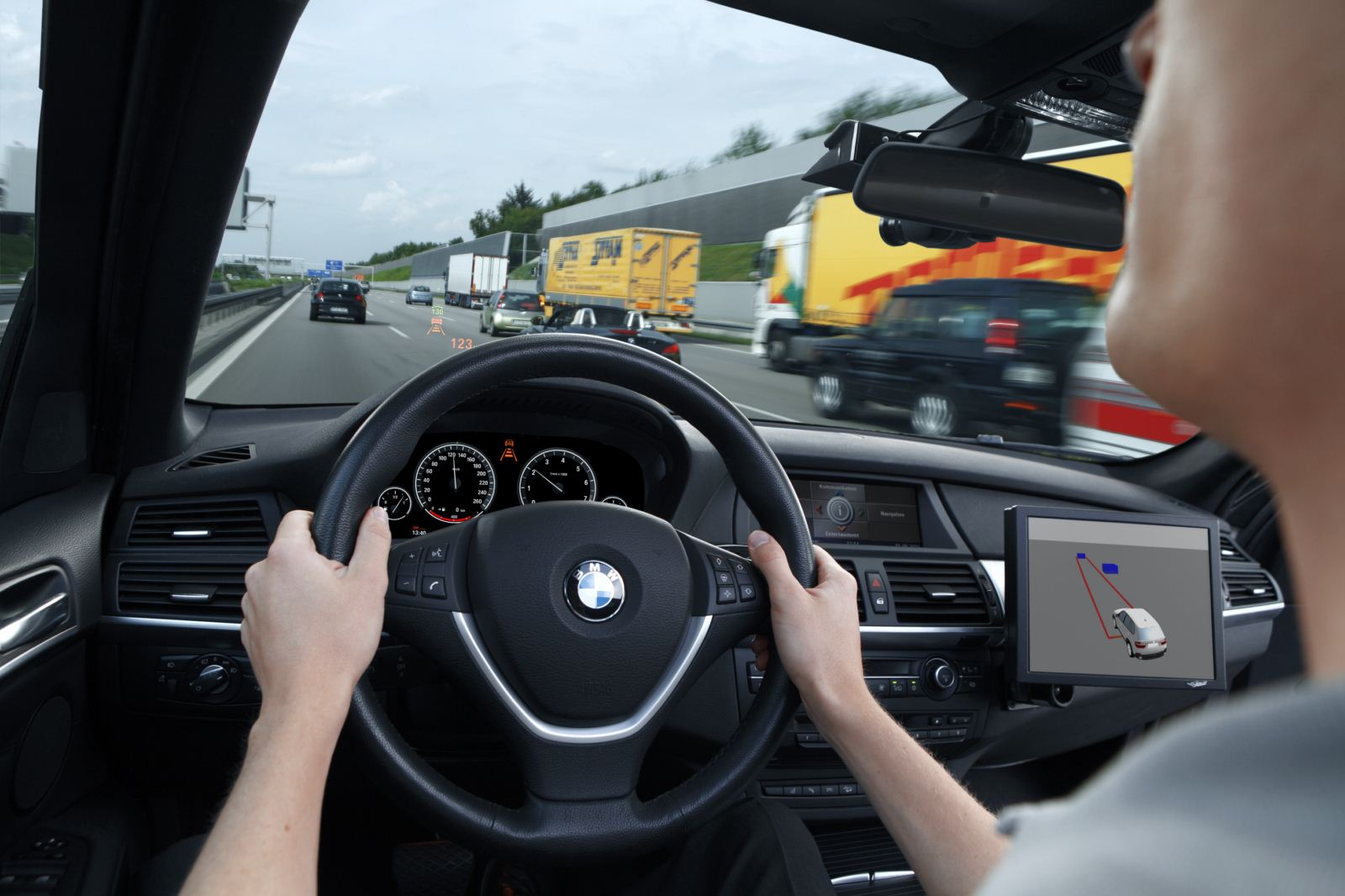 Bmw Makes Self Drive Car With Active Cruise Control