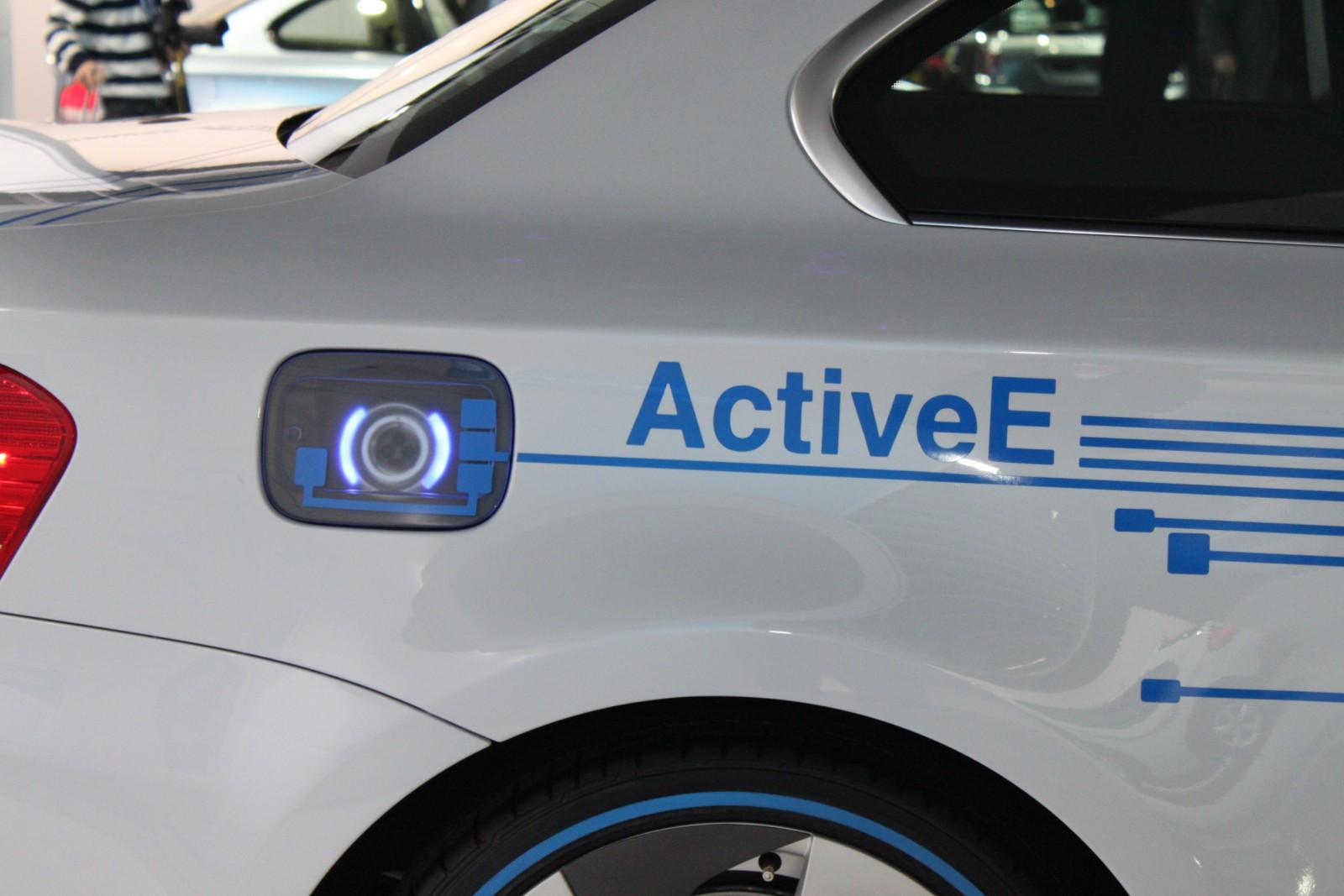bmw active e emission