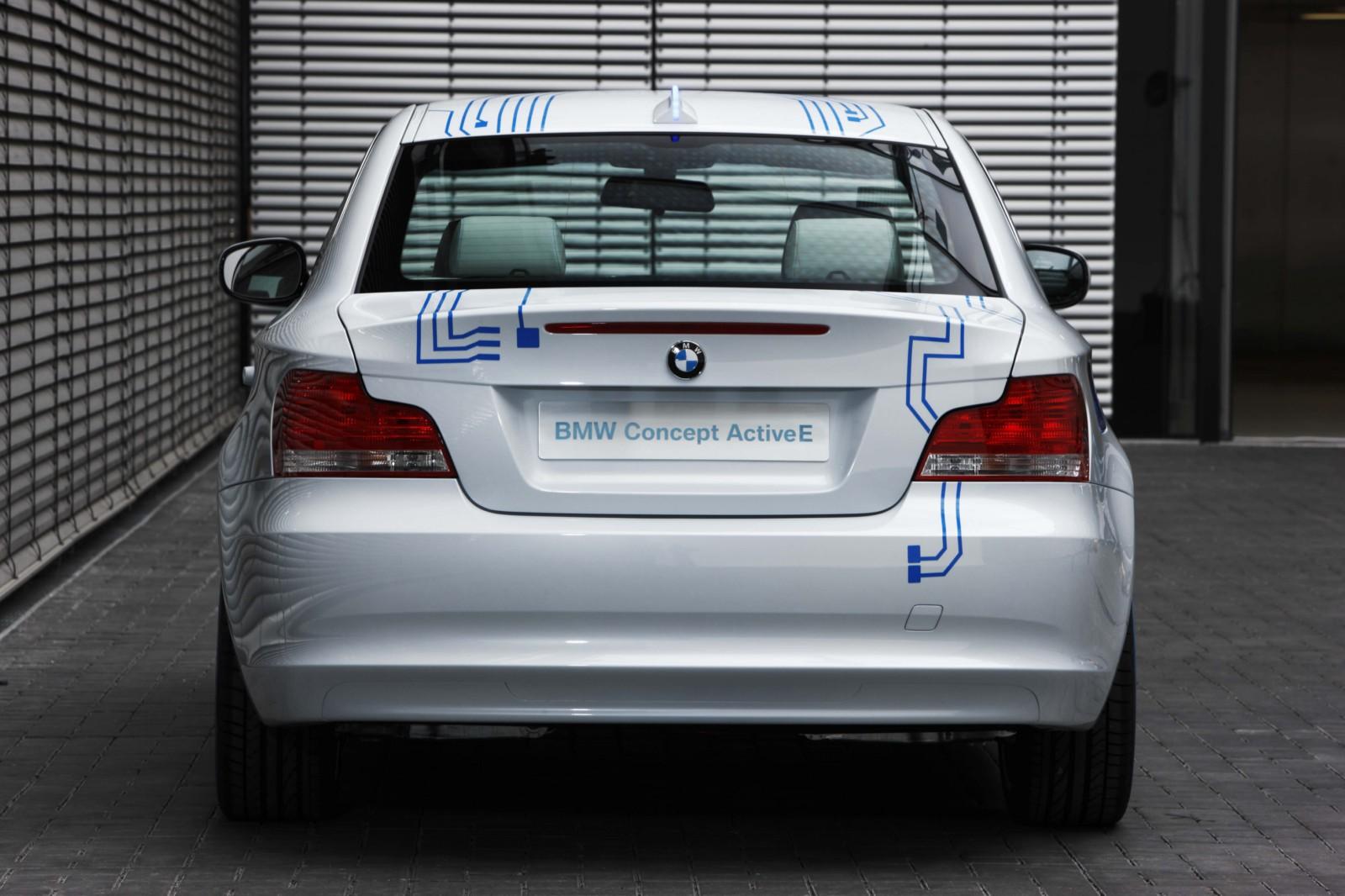World Premiere: BMW ActiveE Concept - 1 Series Electric
