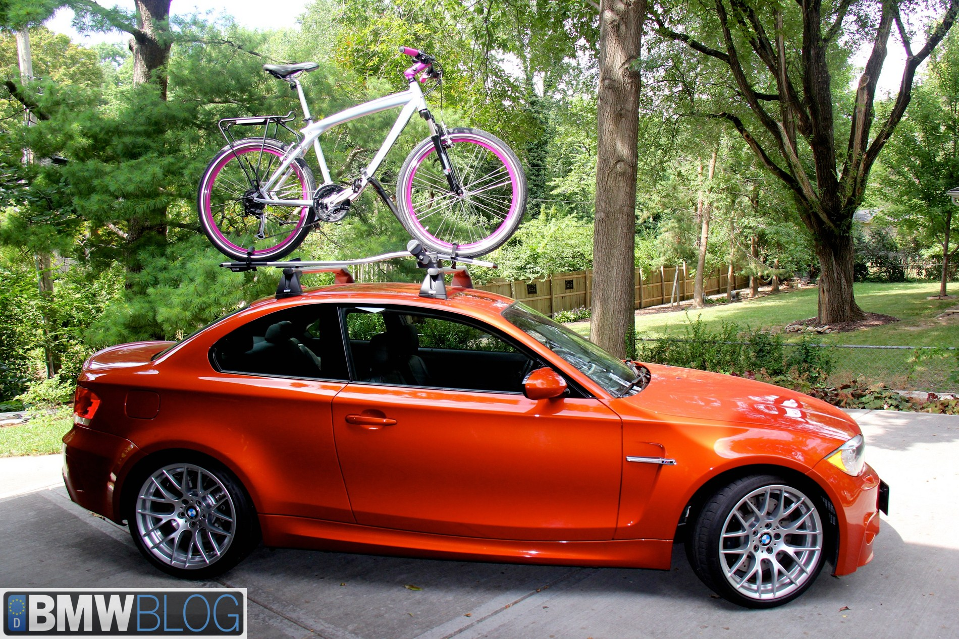 How To Install A Bmw Bike Rack