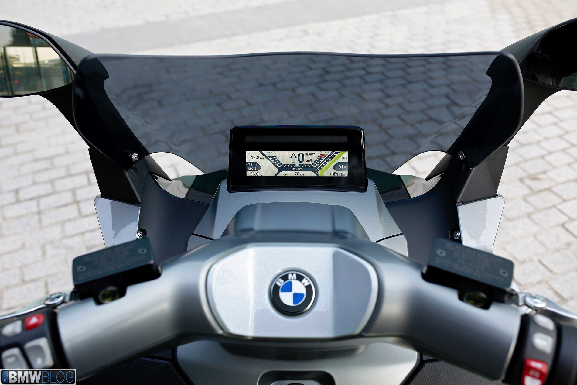 bmw c evolution electric scooter will launch in may