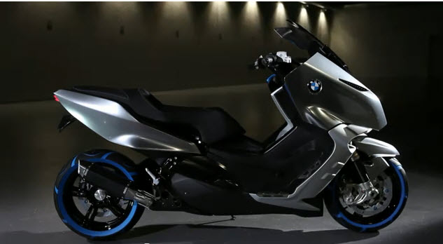 bmw c concept premiere of scooters motorrad by future made the