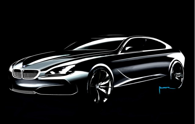 bmw concept gran coupe design process