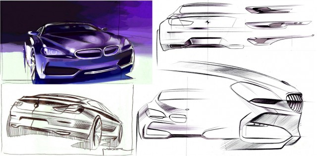 bmw concept gran coupe design process 100311649 m