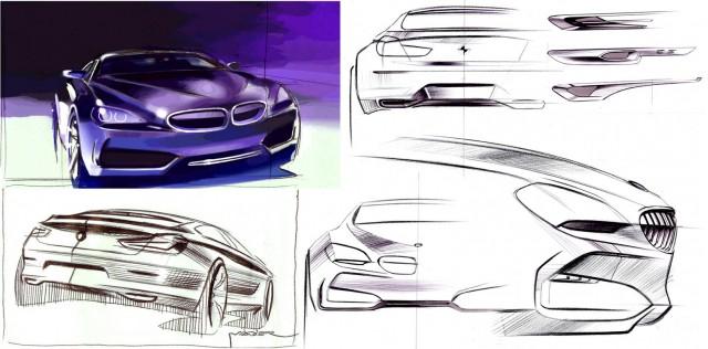 bmw concept gran coupe design process 100311649 m