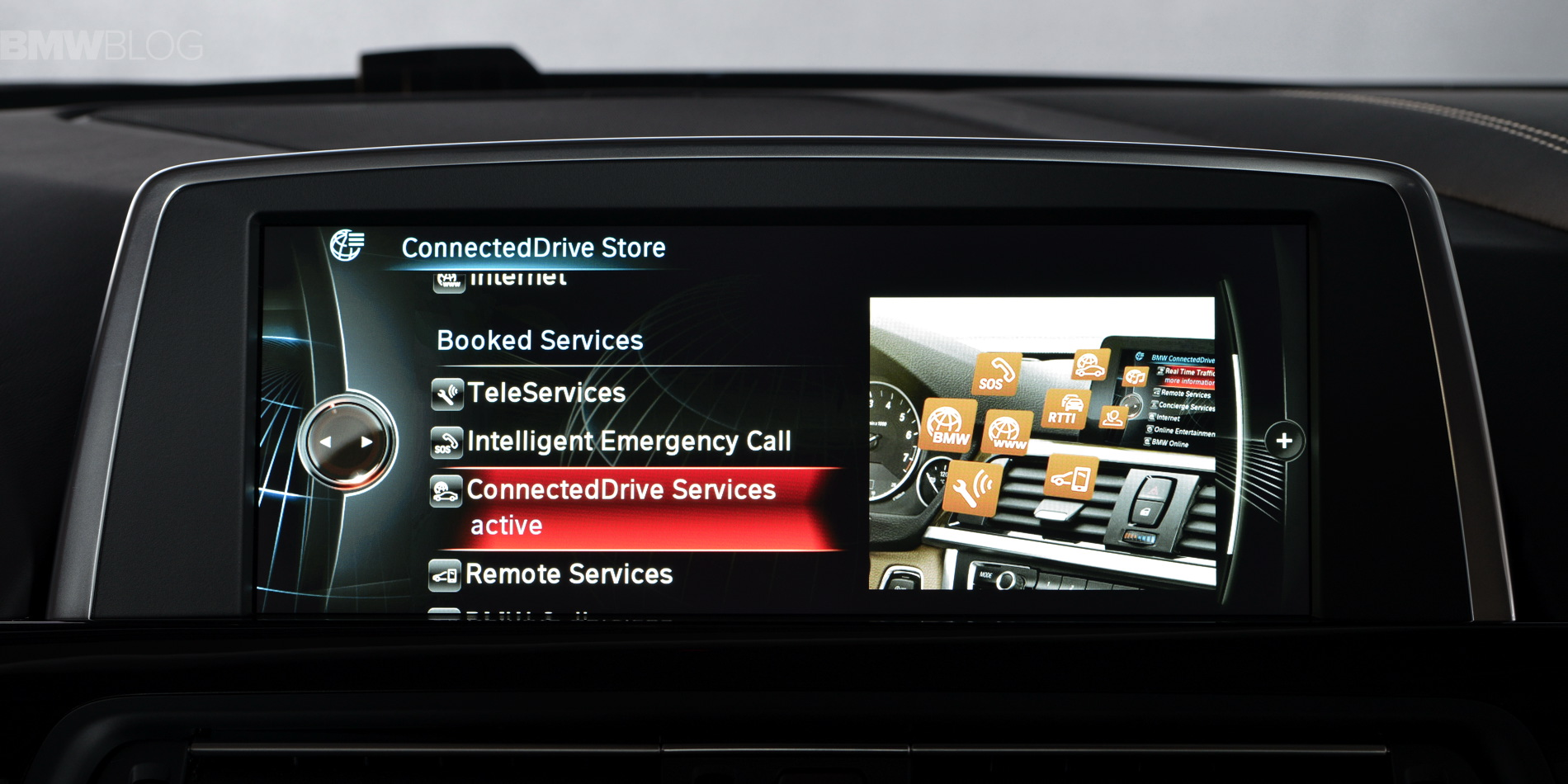 here is the bmw connecteddrive store