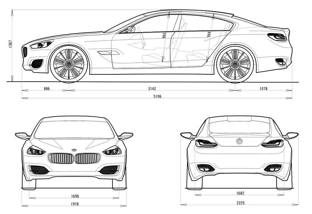 Porsche Panamera Vs Bmw Cs Concept