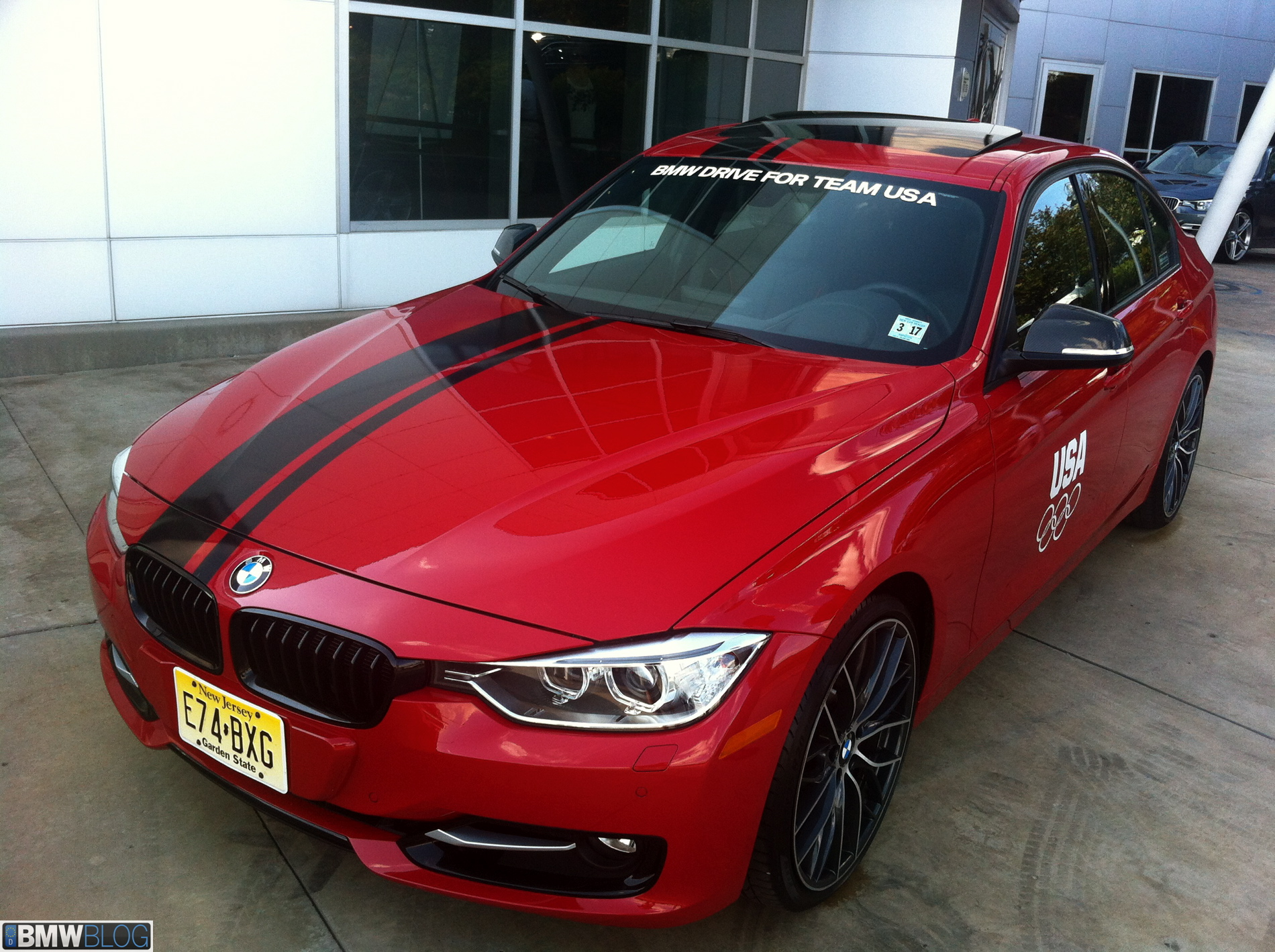 Bmwblog Attends Bmw Drive For Team Usa Bmw North America
