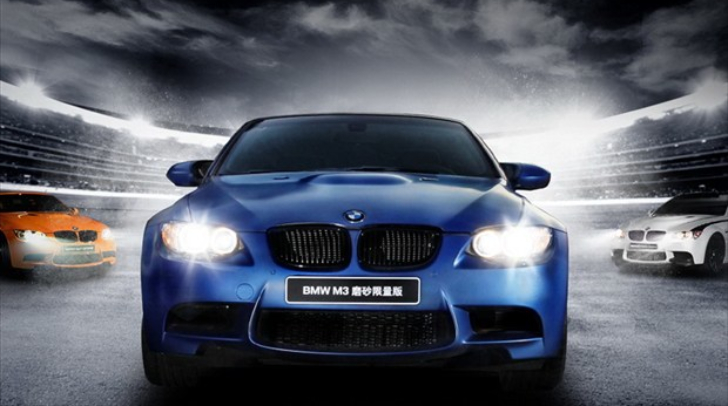 bmw e92 m3 coupe frozen blue limited edition launched in china