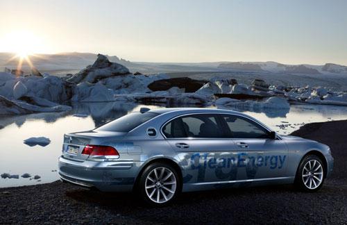 bmw hydrogen 7 car